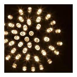 Guirlande lumineuse extérieure 180 leds blanc chaud