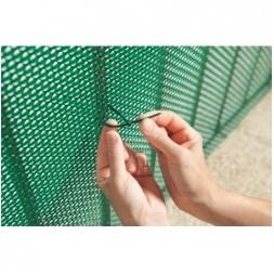 Collier plastique bridfix 14cm noir - Nortene