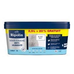 Sous-couche anti-humidité blanc 2.5l - RIPOLIN