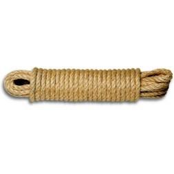 Corde sisal torsadée 610kg 10mm l.10m - CHAPUIS