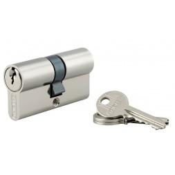 Cylindre 5 goupilles à bouton - 30x30mm 3 clés - THIRARD