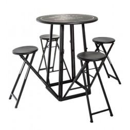 Table + 4 chaises - ATMOSPHERA