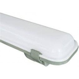 Réglette LED extérieur 1m20 fluo 2 x 37W TIBELEC