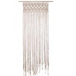 Rideau fil macramé été indien 90 x 200 cm - ATMOSPHERA