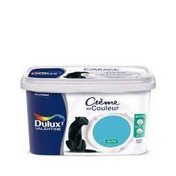 Crème bleu Caraïbes 2.5L - DULUX VALENTINE