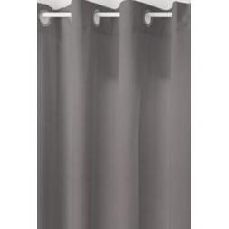 Rideau lilou gris foncé 140x260cm- ATMOSPHERA