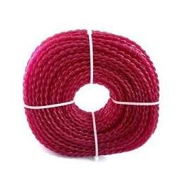 Fil nylon débrousailleuse rose 3.5mm 35m