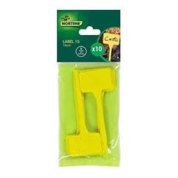 Etiquette à planter jaune 25cm