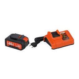 Chargeur 20v/40v + batterie 40v Li-ion 2.0Ah
