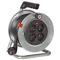 Enrouleur silver 15m H05VVF 3G 1.5 - Brennensthul