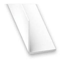 Cornière PVC blanc 35 x 35mm - CQFD