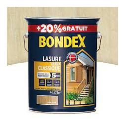 Lasure ultra classique incolore 5+1L - BONDEX