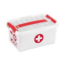 Boîte 1er secours 6L