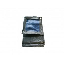 Bâche tarpaulin bleu 3m x 4m