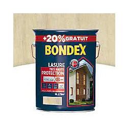 Lasure bois incolore 5L + 20% - BONDEX