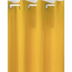 Rideau lilou ocre 140x260cm- ATMOSPHERA