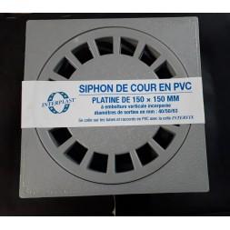 Siphon Cour 150/40 X 50 X 63mm Gris