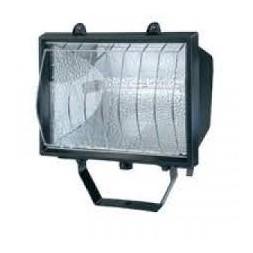 Projecteur halogène noir 1000w noir 1800 lumens