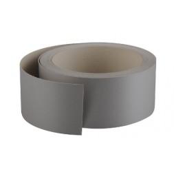 Chant mélaminé th 42mm x 5ml gris aluminium (deee 0.03€)