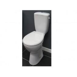 Pack WC blanc PRESIDENT sortie horizontale