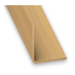 Cornière PVC chêne clair 10 x 10mm - CQFD