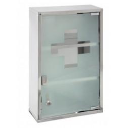 Armoire à pharmacie - L 30 cm x l 12 cm x H 45 cm - Blanc