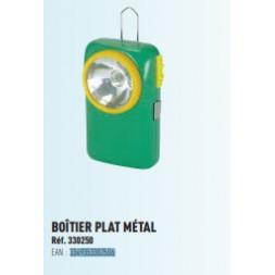 Lampe verte boîtier métal  - TEC' HIT