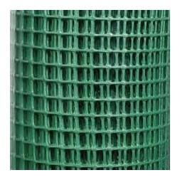 Grillage plastique maille 10 x 10mm vert 1 x 3m