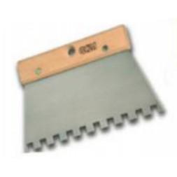 Peigne à colle carré 8x8mm 20cm - OCAI