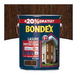 Lasure bois chêne rustique 5L + 20% - BONDEX