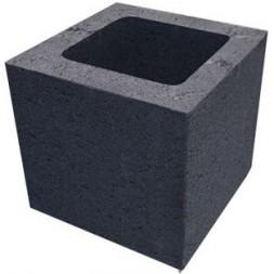 Bloc us  à crépir pierre poteau 20x20x20cm (prévoir consignation palette) - SCPR