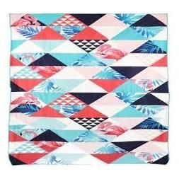 Serviette de plage 150 x 150 cm polyester -GERIMPORT