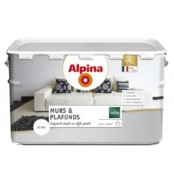 Alpina murs & plafonds  blanc satiné 2.5L