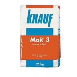 Mortier MAK3 25kg - KNAUF