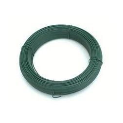 Fil tension plastifié vert 2.7mm 100m