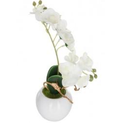 Orchidée artificielle en pot - ATMOSPHERA