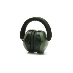Casque anti bruit gris pliable SNR 30 dB. Pyramex