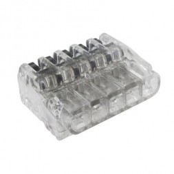 Mini connecteur 5 entrées à levier