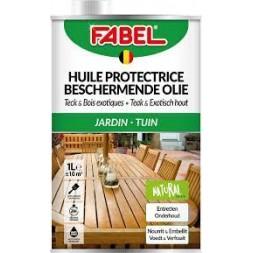 Huile de protection teck et bois 500ml - FABEL