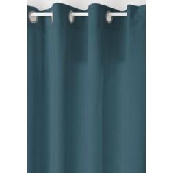 Rideau lilou bleu 140x260cm- ATMOSPHERA