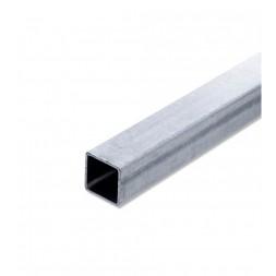 Tube  carré  pré-galvanisé 50 x 50mm ép 2mm long 6m00
