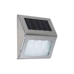 Applique solaire inox plastique satiné IP44