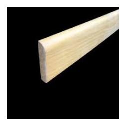 Plinthe angle arrondi rustique pin 10x100mm -SOTRINBOIS
