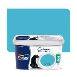 Dulux Valentine crème couleur bleu caraïbes 2.5 l