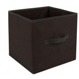 Boîte de Rangement Pliable Basic 31x31cm Noir  - ATMOSPHERA