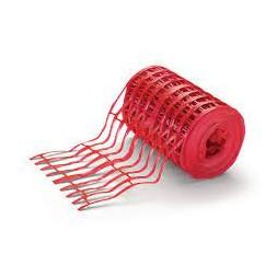 Grillage avertisseurs rouge L.100 m