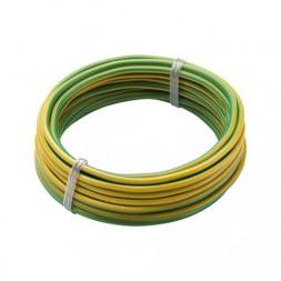 Bobinot H07VU 2.5 5m jaune vert - DEBFLEX