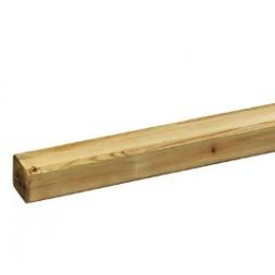 Profilé pin traite classe IV 70 x 70 x 3000mm