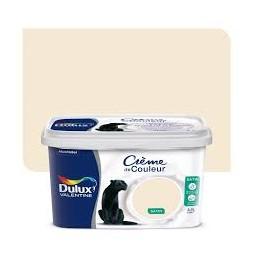 Dulux Valentine crème couleur blanc cassé 2.5 l