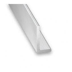 Cornière aluminium brut 15 x 10 x 1mm x 1m